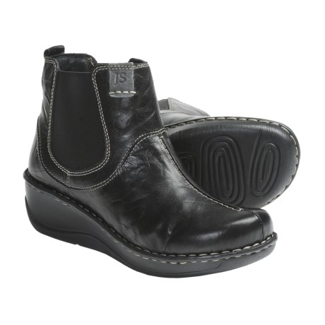 Josef Seibel Elexa Ankle Boots - Leather (For Women) in Black