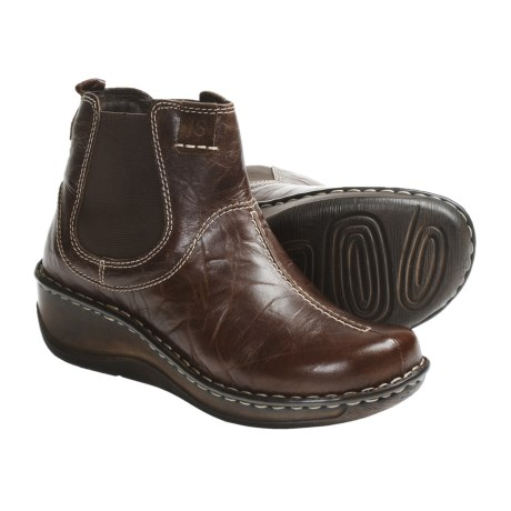 Josef Seibel Elexa Ankle Boots - Leather (For Women) in Chestnut