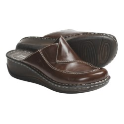 Josef Seibel Emma Clogs (For Women) in Chestnut