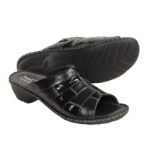 Josef Seibel Eva Sandals (For Women) in Black - Closeouts