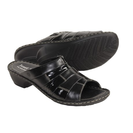 Josef Seibel Eva Sandals (For Women) in Black