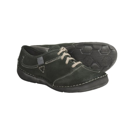 Josef Seibel Fallon Shoes - Suede, Lace-Ups (For Women) in Forest