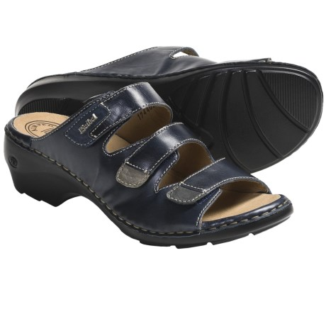 Josef Seibel Gina 02 Sandals - Leather (For Women) in Black
