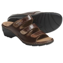 Josef Seibel Gina 02 Sandals - Leather (For Women) in Chestnut - Closeouts
