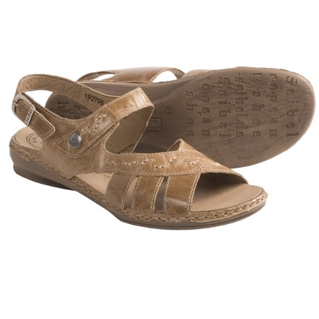 Josef Seibel Grazia 04 Sandals - Leather (For Women) in Brown