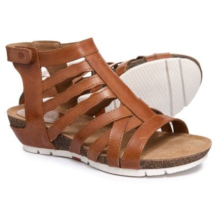 77dcce66d73 Josef Seibel Hailey 17 Gladiator Leather Sandal (For Women) in Camel Como