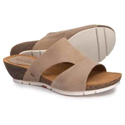 e2827be26dee6c Josef Seibel Hailey 40 Wedge Slide Sandals (For Women) in Sand Asti