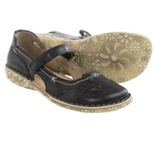 Josef Seibel Ingrid Mary Jane Shoes - Leather (For Women) in Black - Closeouts