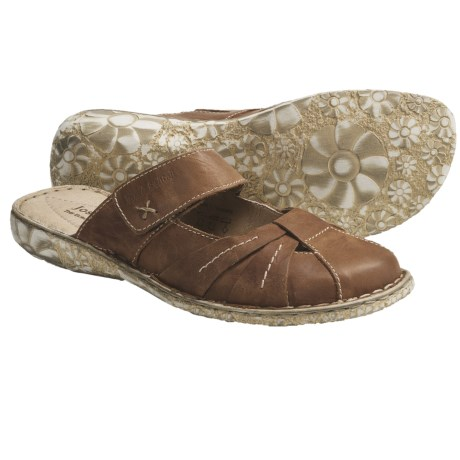 Josef Seibel Izzy Clogs - Leather (For Women) in Bark