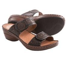Josef Seibel Jennifer 05 Sandals - Leather (For Women) in Black - Closeouts