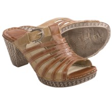 Josef Seibel Julia 03 Sandals (For Women) in Brown - Closeouts
