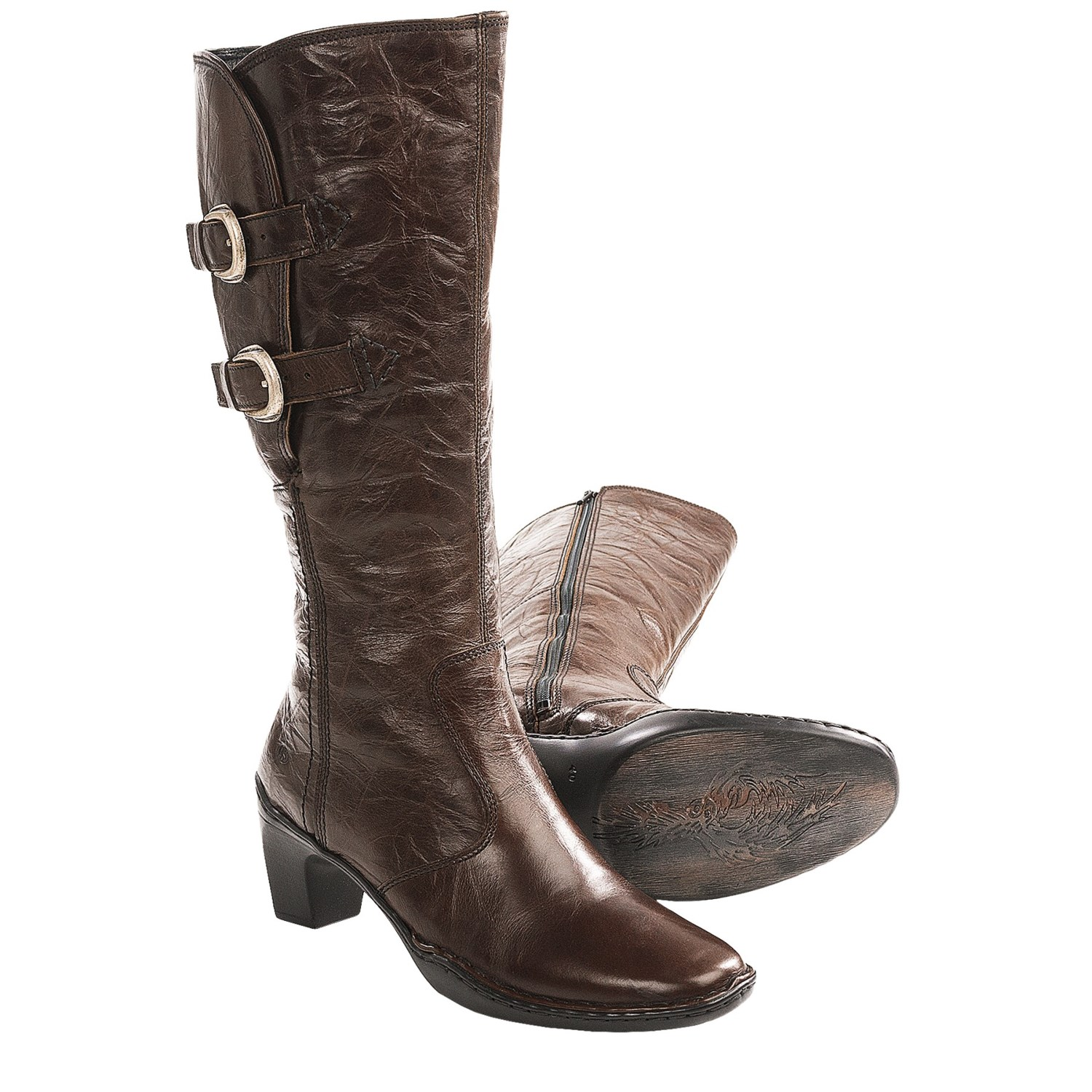 josef seibel kalley boots leather for in brown