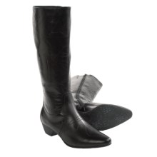 Josef Seibel Kylie 10 Boots - Leather (For Women) in Black - Closeouts