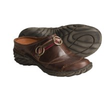 Josef Seibel Leann Clogs - Leather (For Women) in Marone - Closeouts