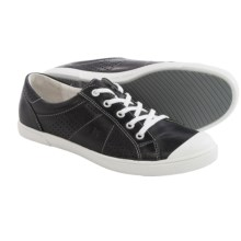 Josef Seibel Lilo 13 Sneakers - Leather (For Women) in Black - Closeouts