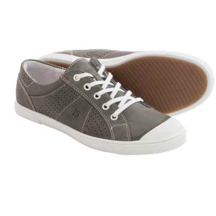 Josef Seibel Lilo 13 Sneakers - Leather (For Women) in Grey - Closeouts