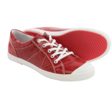 Josef Seibel Lilo 13 Sneakers - Leather (For Women) in Red - Closeouts