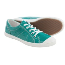 Josef Seibel Lilo 13 Sneakers - Leather (For Women) in Turquoise - Closeouts