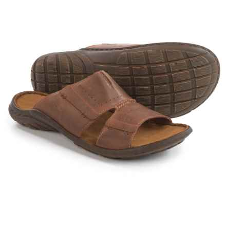 Josef Seibel Logan 21 Sandals - Leather (For Men) in Nut - Closeouts