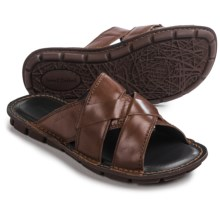 Josef Seibel Luke 07 Sandals - Leather (For Men) in Brown - Closeouts