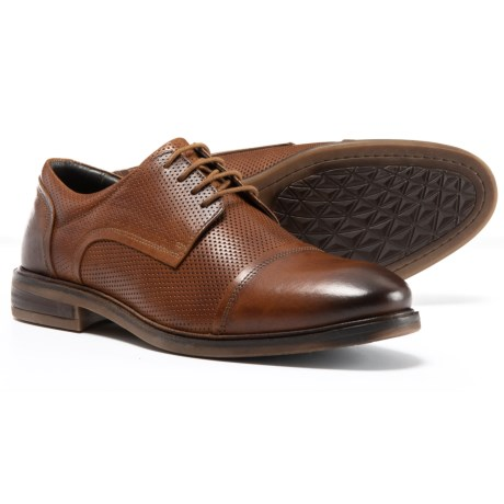 Josef Seibel Made in Germany Myles 05 Cap-Toe Oxford Shoes - Leather (For Men) in Brown