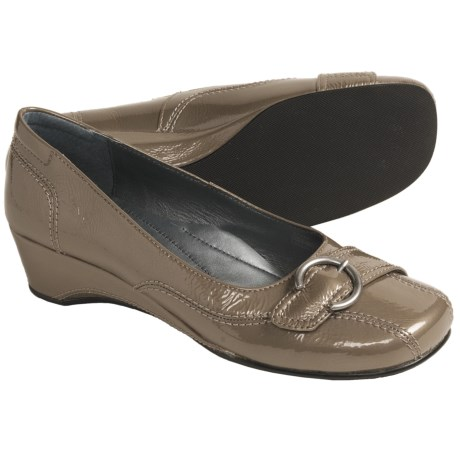 Josef Seibel Mary Pumps - Wedge Heel (For Women) in Moro Nubuck