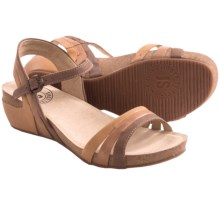 Josef Seibel Maxima 02 Strappy Sandals - Leather (For Women) in Brown - Closeouts