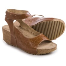 Josef Seibel Meike 01 Leather Sandals (For Women) in Camel - Closeouts