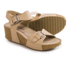 Josef Seibel Meike 09 Leather Sandals (For Women) in Teint - Closeouts