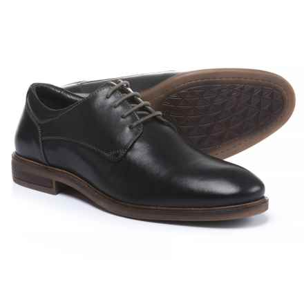 Josef Seibel Myles 07 Oxford Shoes - Leather (For Men) in Black Calf - Closeouts