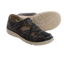Josef Seibel Nicole 01 Sandals - Leather (For Women) in Black - Closeouts