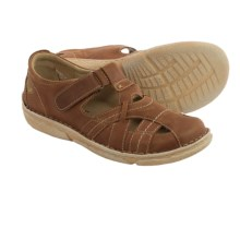Josef Seibel Nicole 01 Sandals - Leather (For Women) in Brandy - Closeouts