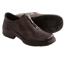 Josef Seibel Pamela 01 Shoes - Slip-Ons (For Women) in Dark Brown - Closeouts