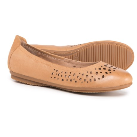Josef Seibel Pippa 29 Ballet Flats - Leather (For Women) in Camel
