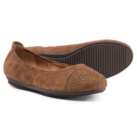 Josef Seibel Pippa 43 Ballet Flats - Leather (For Women) in Castagne - Closeouts