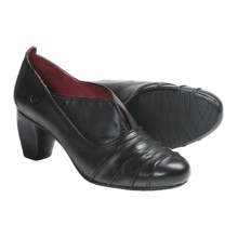 Josef Seibel Rochelle Pumps - Leather (For Women) in Black Calf - Closeouts