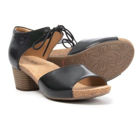 sports shoes 5ea7e aade9 Josef Seibel Rose 23 Open-Toe Sandals - Leather (For Women) in Black