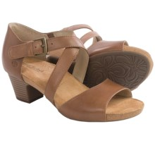 Josef Seibel Ruth 13 Sandals - Leather (For Women) in Nut - Closeouts