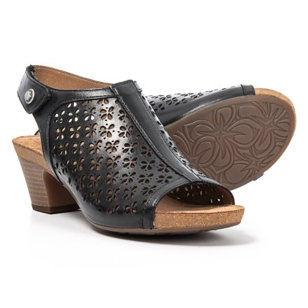 e3e4f9d24 Josef Seibel Ruth 33 Platform Sandals - Leather (For Women) in Black Como
