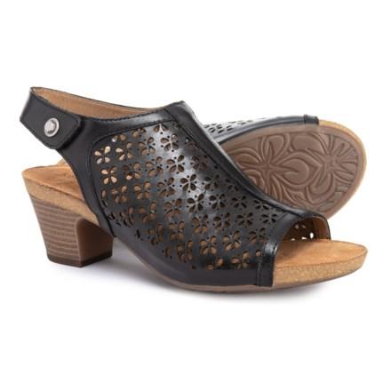 b0a869390295 Josef Seibel Ruth 33 Sling Sandals (For Women) in Black Como