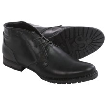 Josef Seibel Sascha 12 Chukka Boots - Leather (For Men) in Black - Closeouts