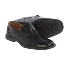 Josef Seibel Stoker Loafers - Leather (For Men) in Black - Closeouts