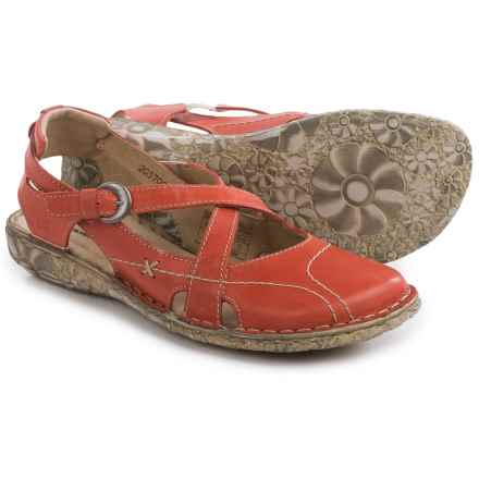 Josef Seibel Sunflower Shoes - Slip-Ons (For Women) in Red - Closeouts