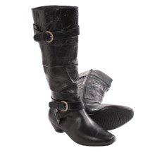 Josef Seibel Tina 10 Boots - Leather (For Women) in Black - Closeouts