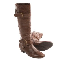 Josef Seibel Tina 10 Boots - Leather (For Women) in Brown - Closeouts