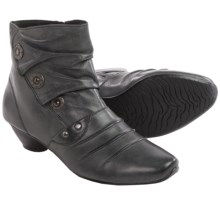 Josef Seibel Tina 42 Ankle Boots - Leather (For Women) in Grey Goat - Closeouts