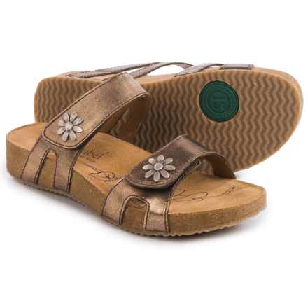 Josef Seibel Tonga 04 Leather Sandals (For Women) in Bronze - Closeouts