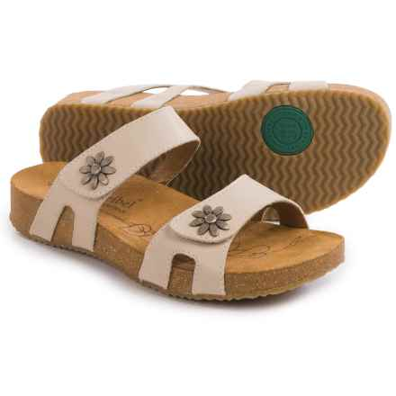Josef Seibel Tonga 04 Leather Sandals (For Women) in White - Closeouts