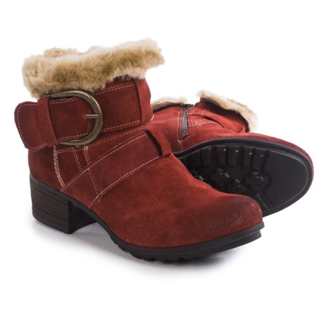 Josef Seibel Tracy 03 Ankle Boots - Suede (For Women) in Carmin