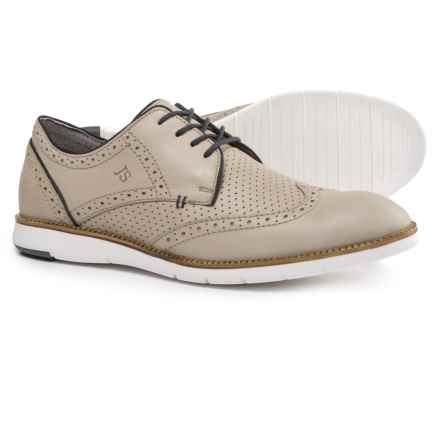 Josef Seibel Tyler 01 Oxford Shoes - Leather (For Men) in Light Grey - Closeouts